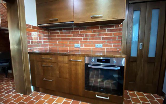 panel szklany kuchnia bezbarwny optiwhite cegla