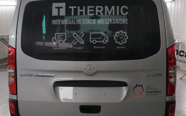 oklejanie auta citan thermic leszno