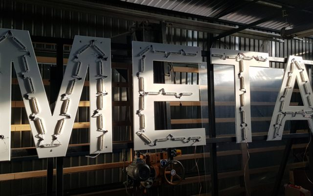 produkcja liter 3d metal moduly led leszno